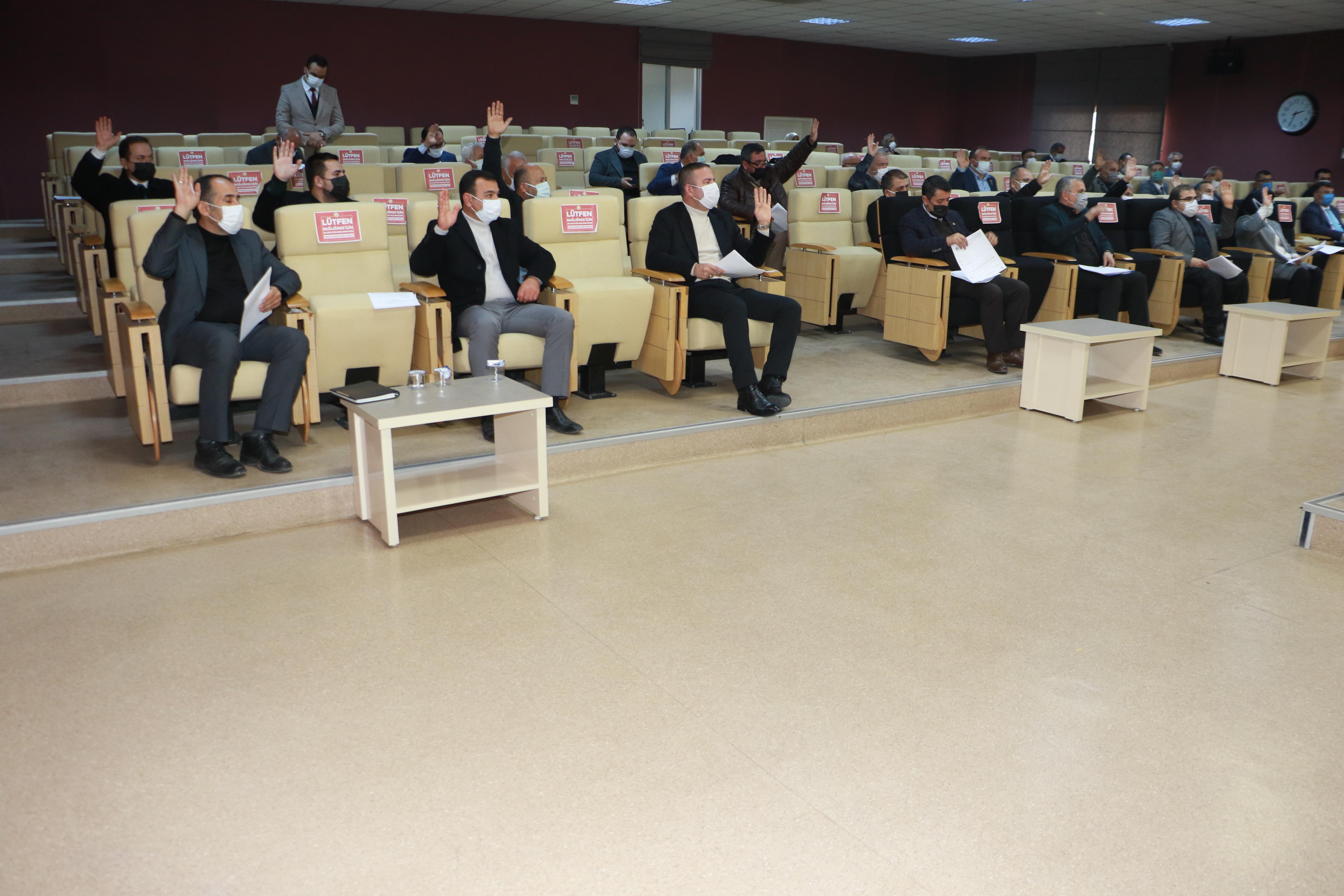 Belediyemiz Aralık Ayı Meclis Toplantısı gerçekleştirildi