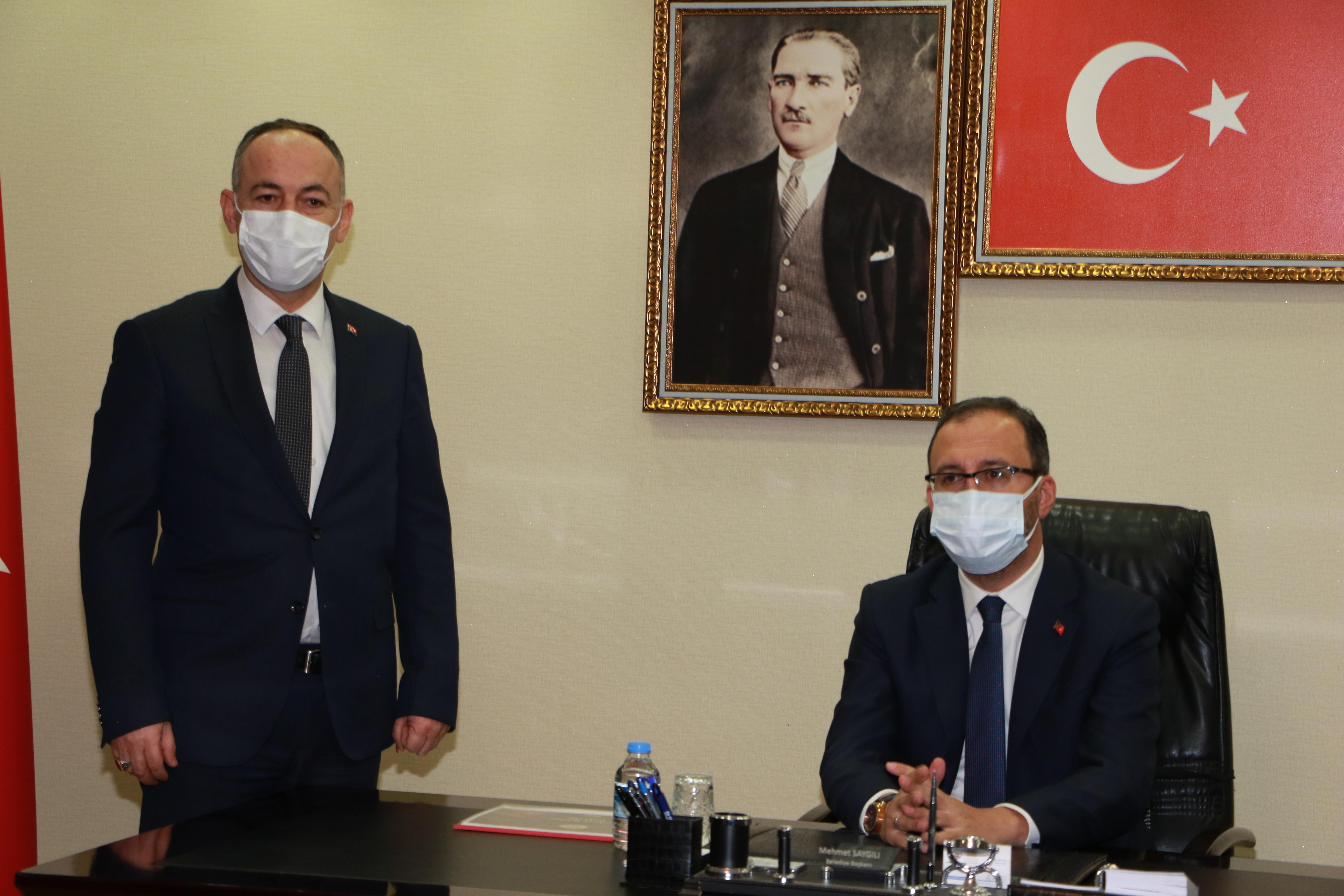 Bakan Kasapoğlu, Belediyemizi Ziyaret Etti