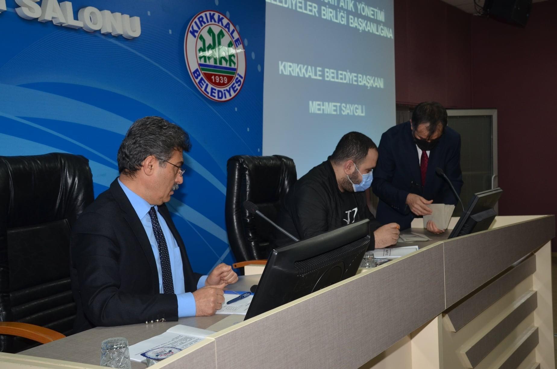 Katı Atık  ve Yeşil Vadi Meclis toplantısı gerçekleştirildi