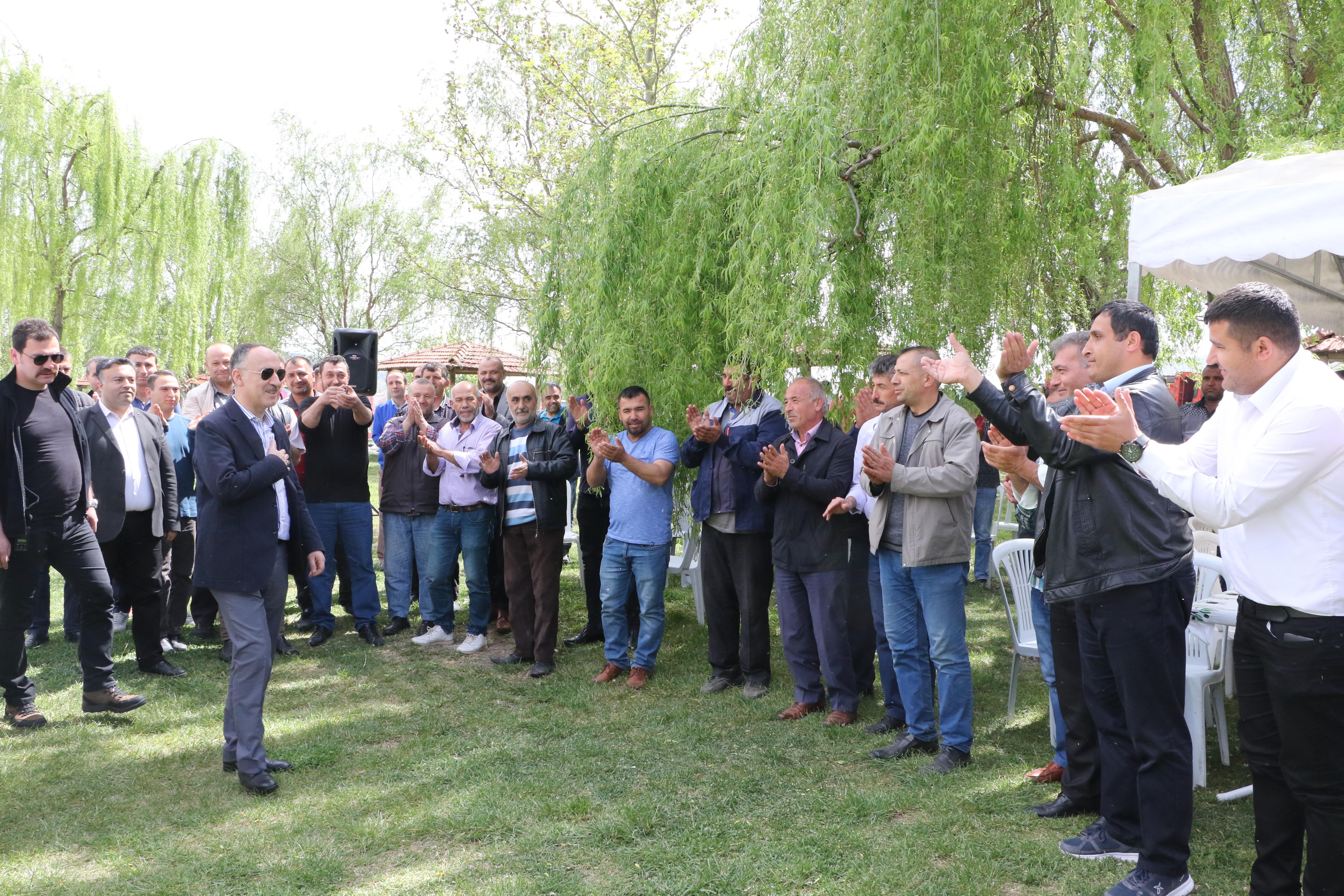 Başkanımız 1 Mayıs işçi ve Emekçi Bayramını Kutladı