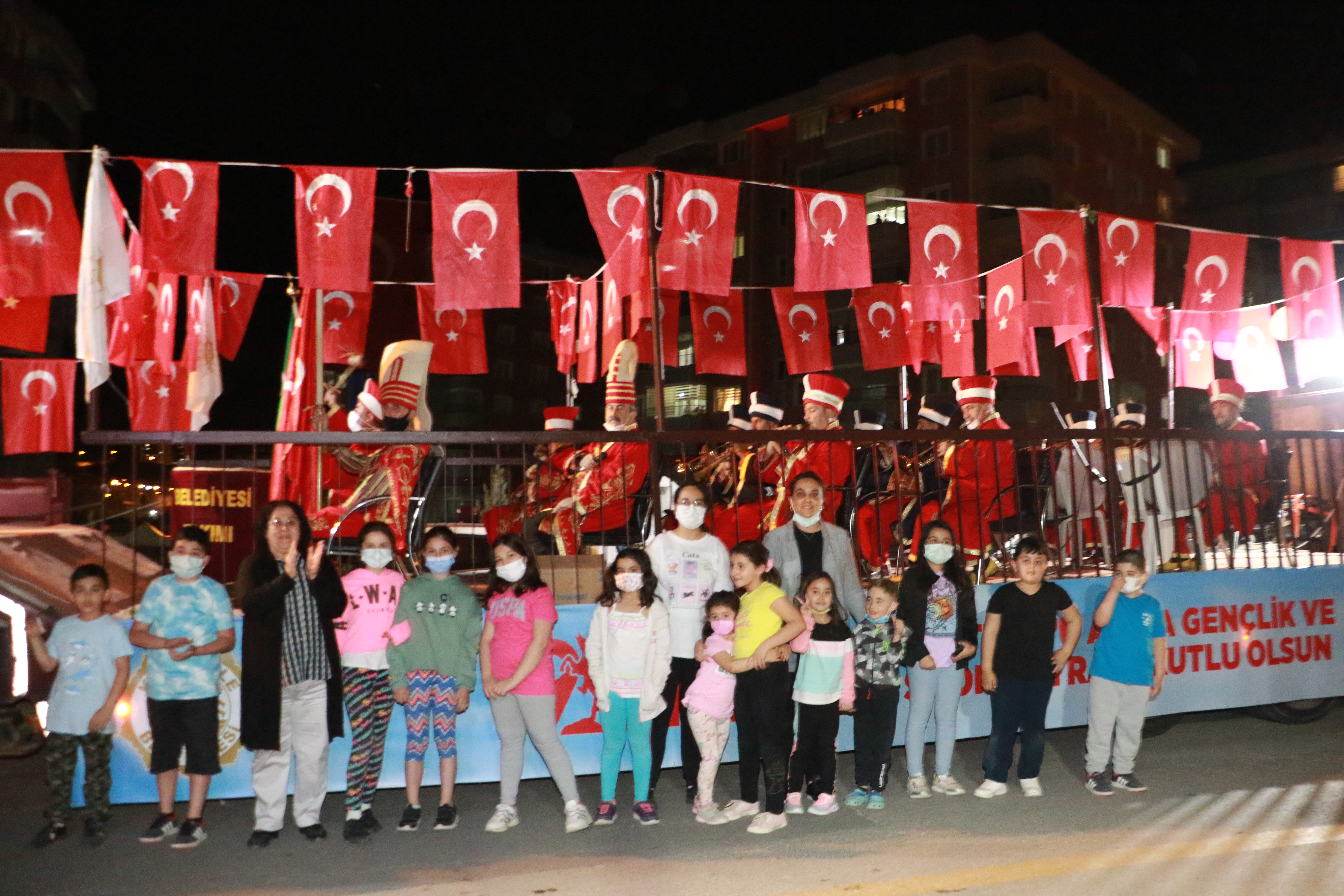 Belediyemiz 19 Mayıs'ı Mehteran ile Kutladı