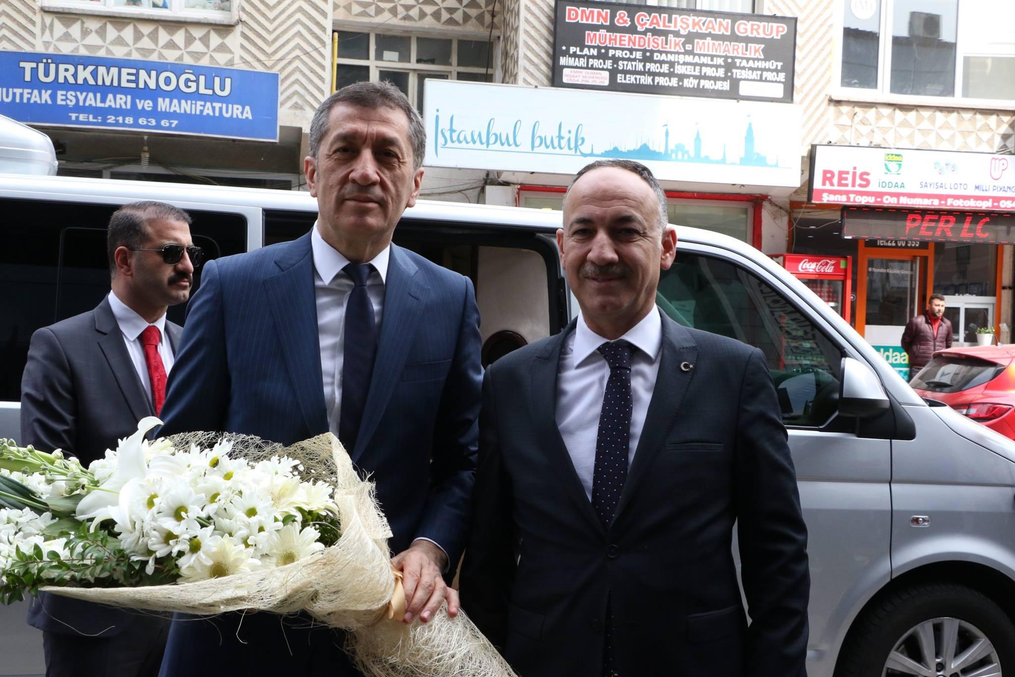 Milli Eğitim Bakanı Ziya Selçuk Belediyemizi Ziyaret Etti