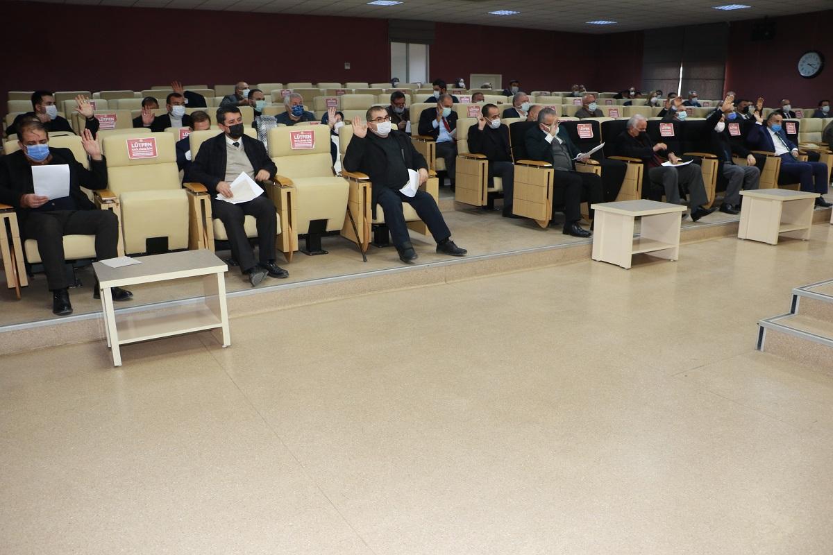 2021 Yılının İlk Meclis Toplantısı Gerçekleştirildi