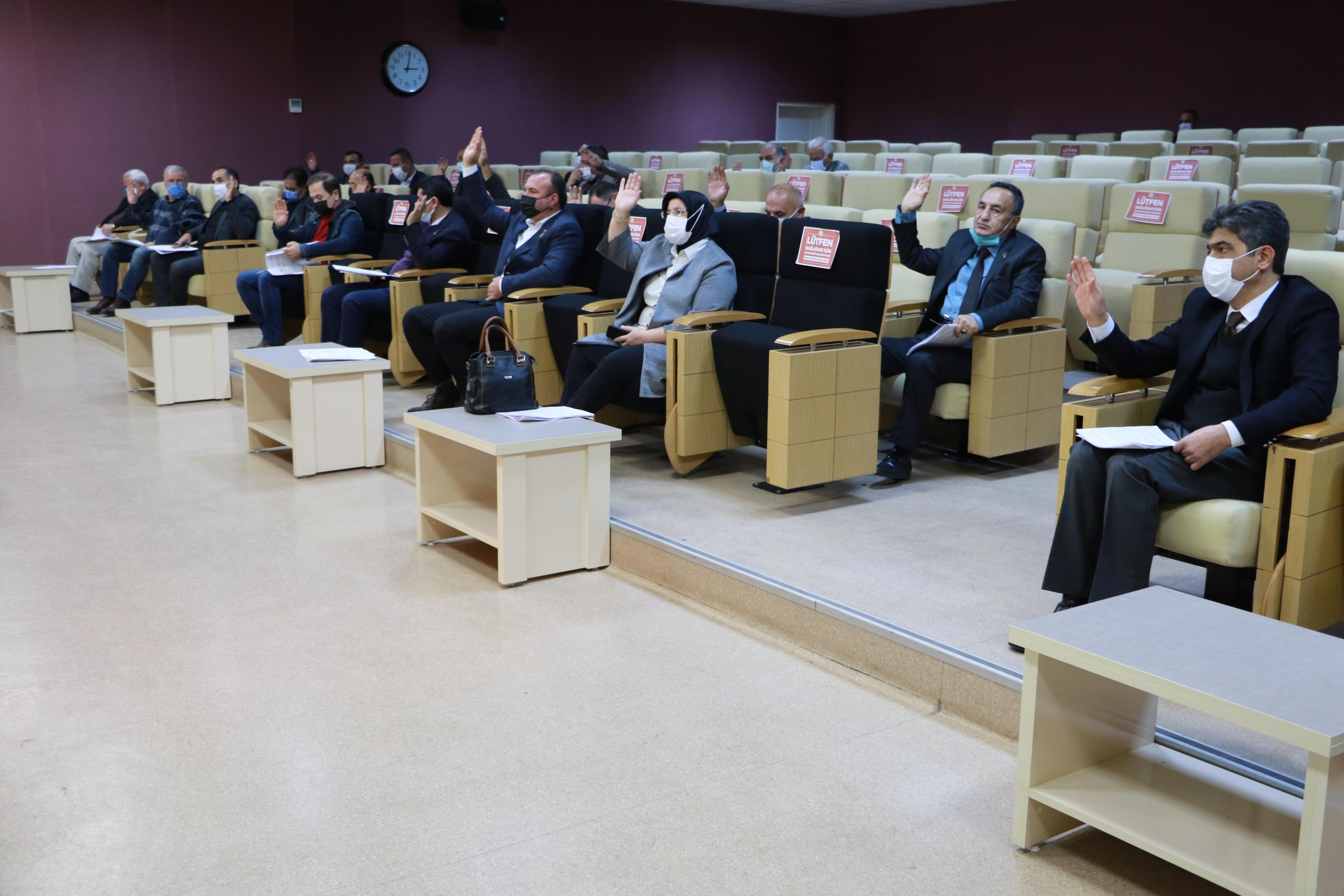 Belediyemizin 2021 Yılı Bütçesi Onaylandı