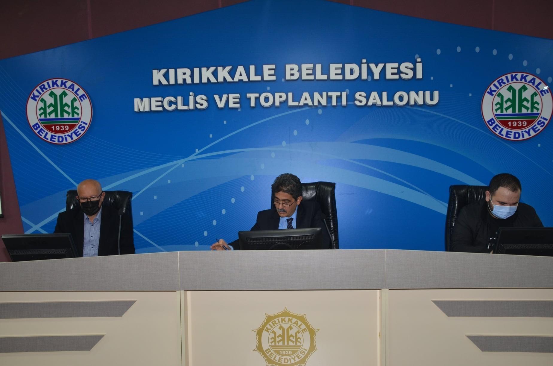 Tarih : 28.04.2021 - Katı Atık  ve Yeşil Vadi Meclis toplantısı gerçekleştirildi